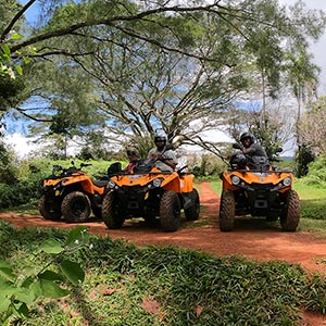 ATV Tour at Punatea Village